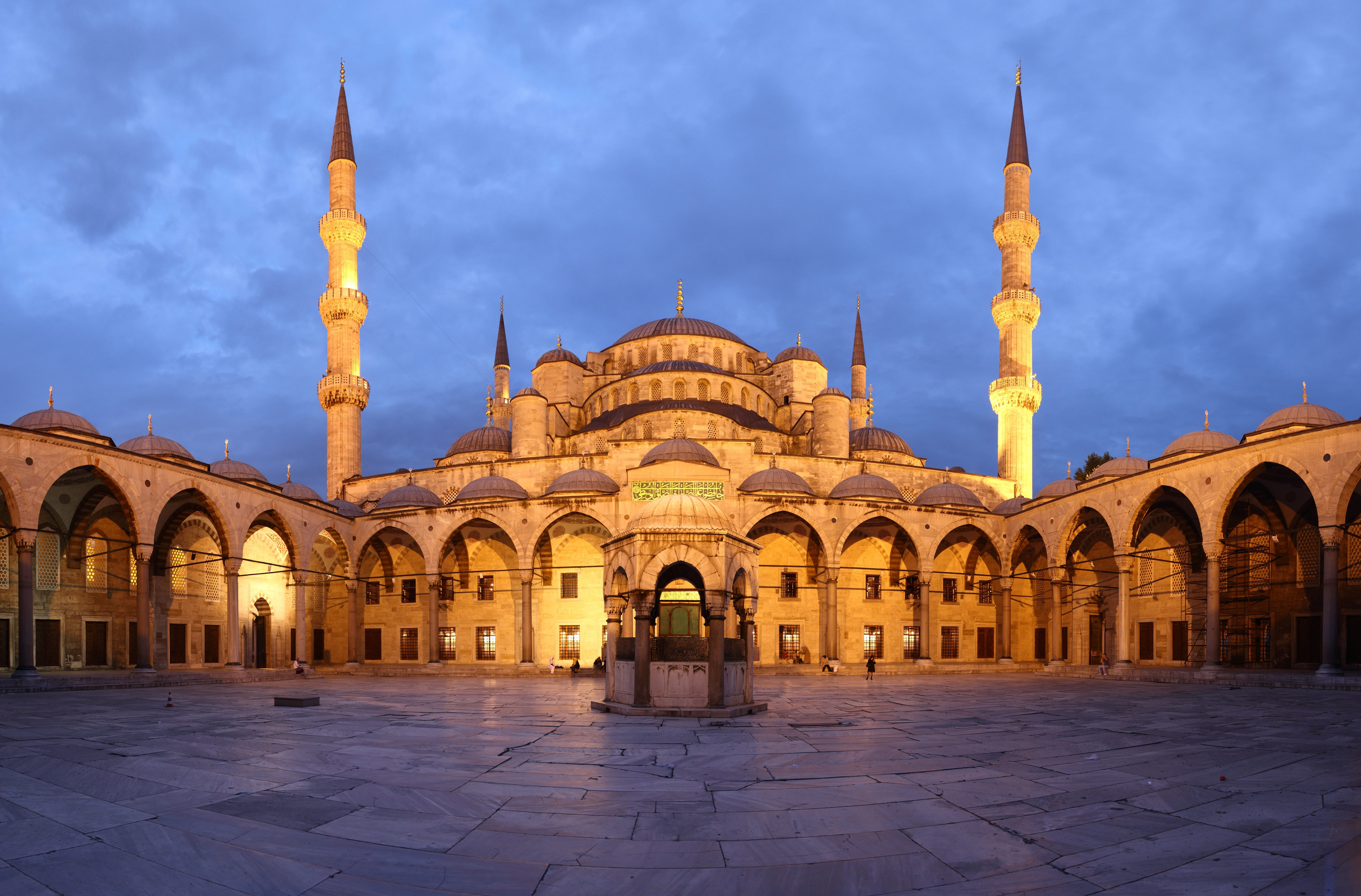Mosque: The History Of The Blue Mosque In Turkey