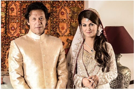 Congratulations to the new Mr and Mrs Imran Khan!
