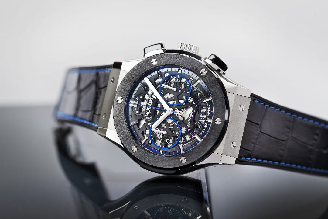 Hublot and the Watch Gallery collaborate once more to launch a limited edition timepiece