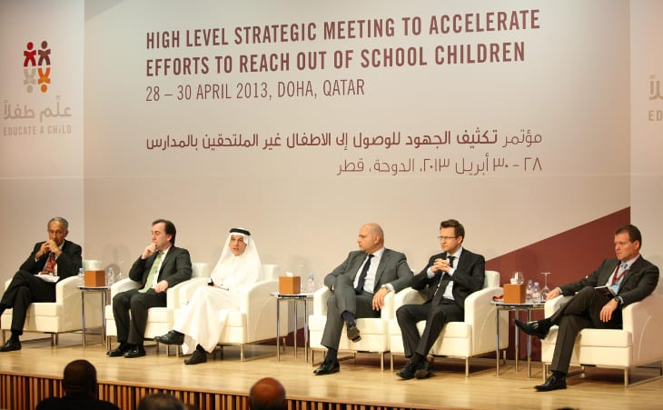 Qatar Airways supports Educate A Child programme