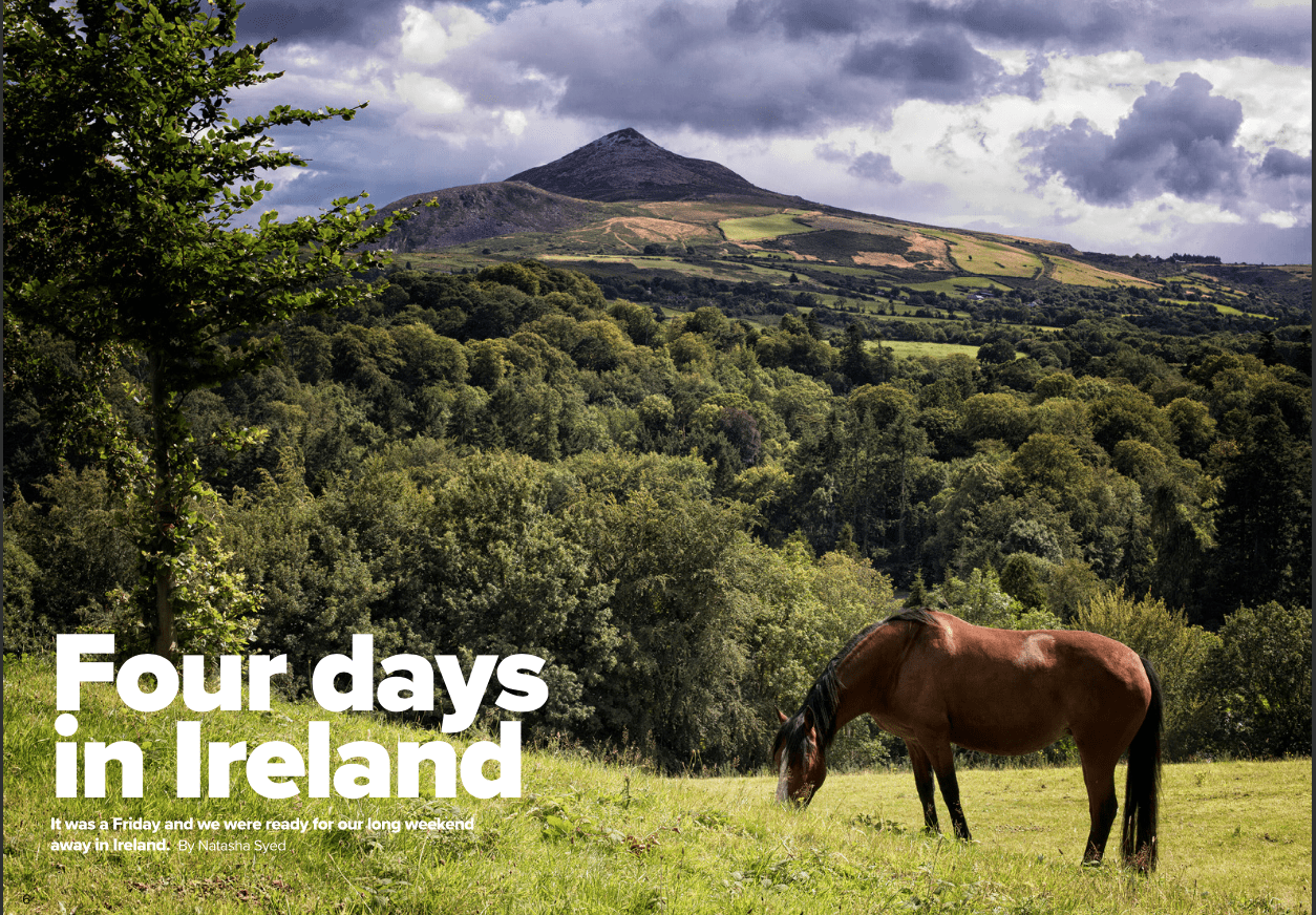 Four Day's in Ireland – Weekend Break