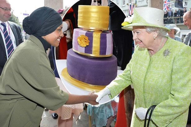 Nadiya Hussain bakes for her majesty the Queen - British ...